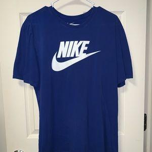 Nike Blue Men's Solstice Futura T-Shirt